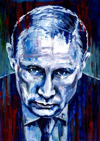 Vladimir Putin by Alex Stutchbury