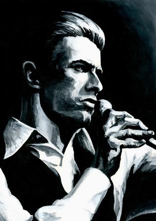 David Bowie by Alex Stutchbury