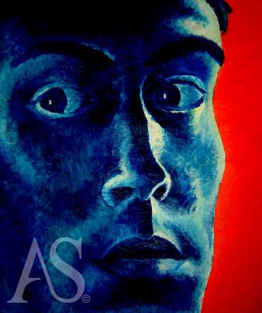 Self-Portrait by Alex Stutchbury