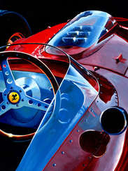 Mike Hawthorn | 1958 F1 World Champion by Alex Stutchbury
