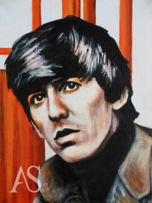 George Harrison by Alex Stutchbury