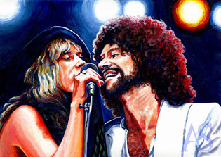 Stevie & Lindsey by Alex Stutchbury