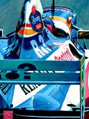 Jacques Villeneuve | 1997 F1 World Champion by Alex Stutchbury