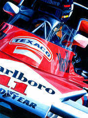 James Hunt | 1976 F1 World Champion by Alex Stutchbury