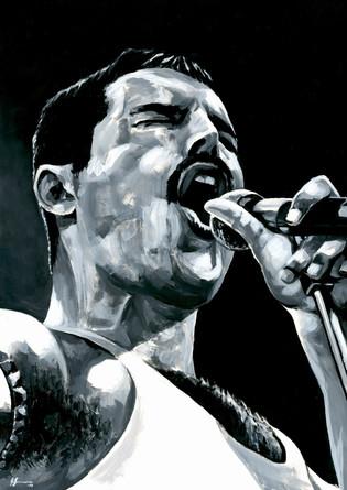 Freddie Mercury by Alex Stutchbury