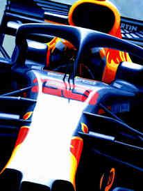 Max Verstappen | Austrian GP Winner by Alex Stutchbury