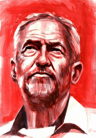 Jeremy Corbyn by Alex Stutchbury