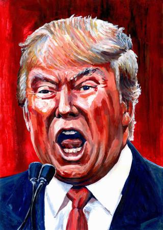 Donald Trump by Alex Stutchbury