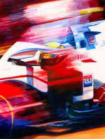 Mick Schumacher 2021 Haas VF21 by Alex Stutchbury