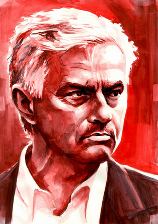 José Mourinho by Alex Stutchbury