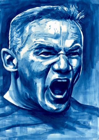 Wayne Rooney by Alex Stutchbury