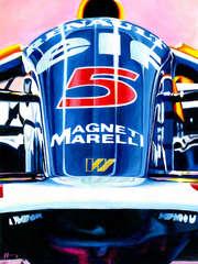 Nigel Mansell | 1992 F1 World Champion by Alex Stutchbury