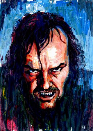 Jack Nicholson by Alex Stutchbury