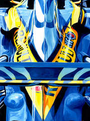 Fernando Alonso  2006 F1 World Champion by Alex Stutchbury