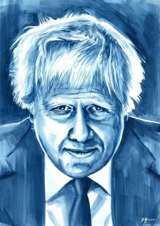 Boris Johnson by Alex Stutchbury