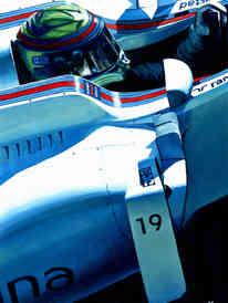 Felipe Massa by Alex Stutchbury