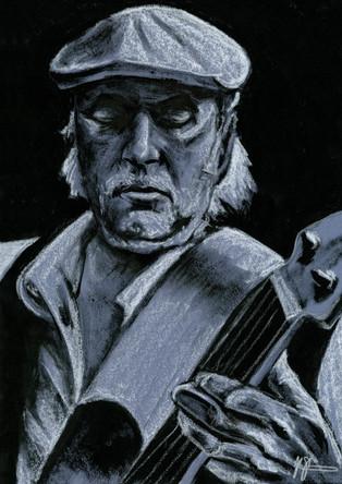 John McVie by Alex Stutchbury