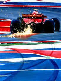 Kimi Raikkonen by Alex Stutchbury