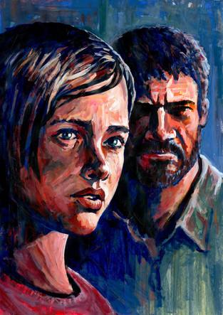 'Ellie and Joel' by Alex Stutchbury