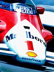 Alain Prost | 1986 World Champion by Alex Stutchbury