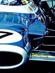 Jackie Stewart | 1969 F1 World Champion by Alex Stutchbury
