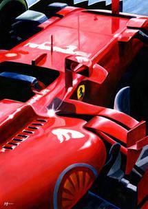 Ferrari SF70H by Alex Stutchbury
