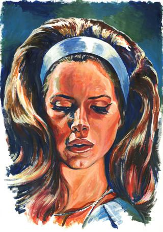 Lana Del Rey by Alex Stutchbury
