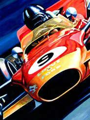 Graham Hill | 1968 F1 World Champion by Alex Stutchbury