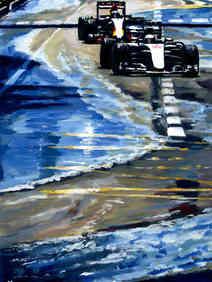 'The Monaco Duel' by Alex Stutchbury