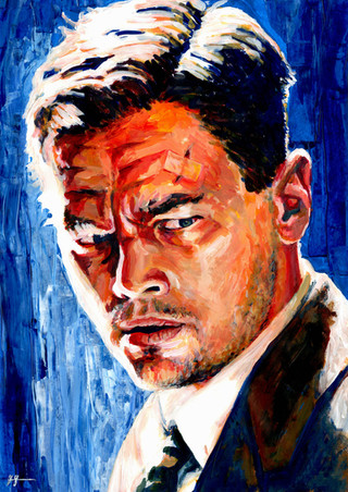 Leonardo DiCaprio by Alex Stutchbury