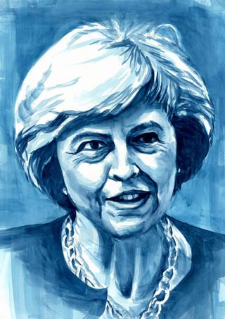 Theresa May by Alex Stutchbury