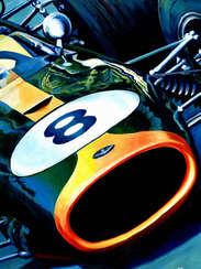 Sir Jack Brabham | 1966 F1 World Champion by Alex Stutchbury