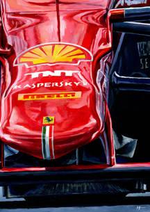Ferrari SF15T by Alex Stutchbury