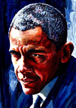 Barack Obama by Alex Stutchbury