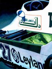 Alan Jones | 1980 F1 World Champion by Alex Stutchbury