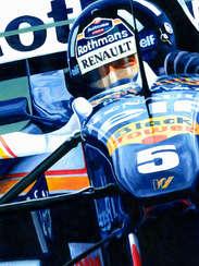 Damon Hill | 1996 F1 World Champion by Alex Stutchbury