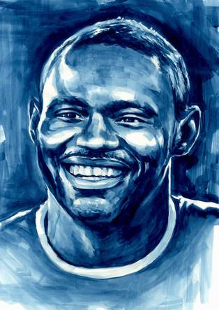 Oumar Niasse by Alex Stutchbury
