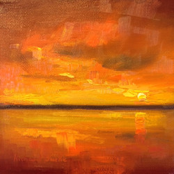Horizon Study in Orange