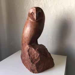 Barn Owl in stone