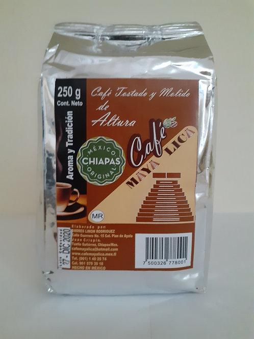 Café molido MAYA LICA; 250gr