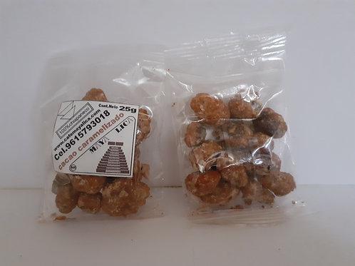 Cacao caramelizado 25gr