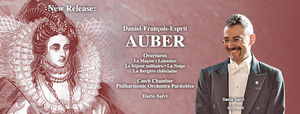 New Release: Auber Overtures with the Czech Philharmonic Orchestra Pardubice and Dario Salvi