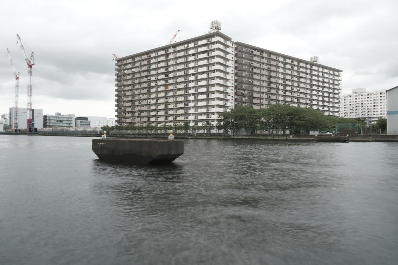 東京港専用線跡