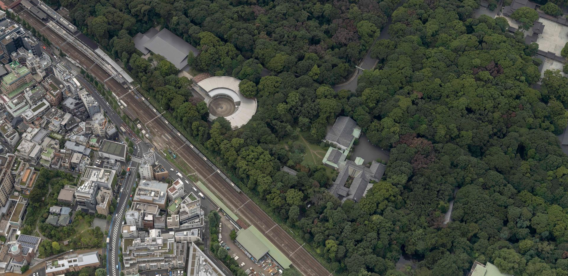 原宿駅付近