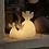Thumbnail: Ange en cire lumineux (télécommandable)