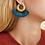Thumbnail: Boucles d'oreilles POSTANO - Gas Bijoux