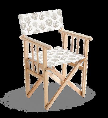 "Chaise ""Metteur en Scène"" en bois"