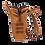 Thumbnail: Sac à dos MOSCOU - Mini Caramel