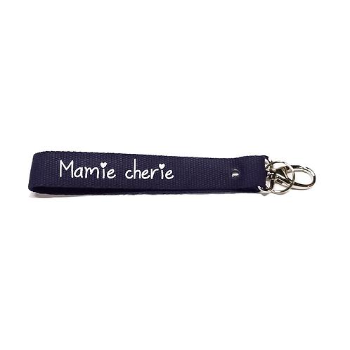 Porte-Clés Sangles - Grand Mère Marine