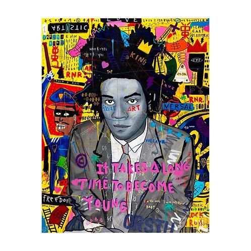 Tableau - Young Basquiat